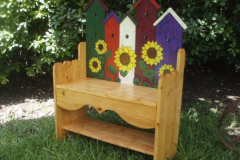 Birdhouse Bench