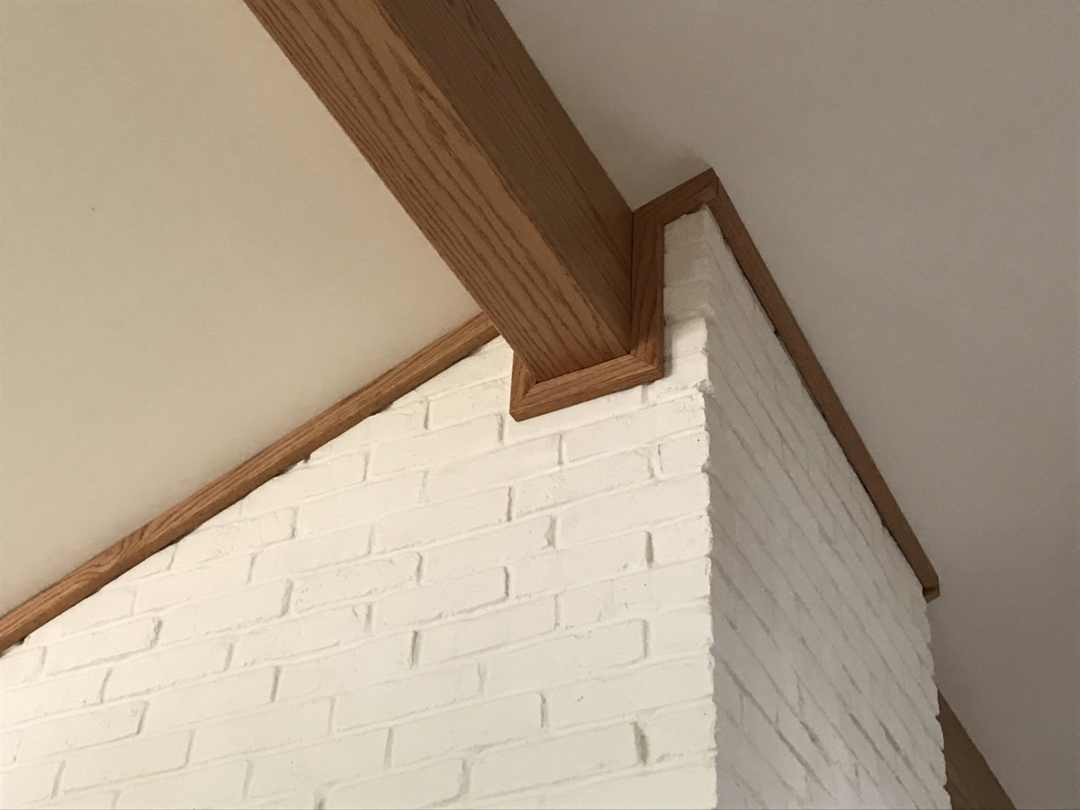 Faux Oak Beam